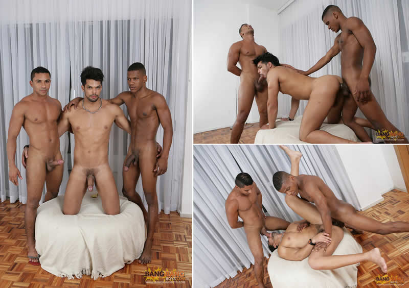 Vídeo Gay Online – Marcello Mastro, George Bangs & Lucas Fox