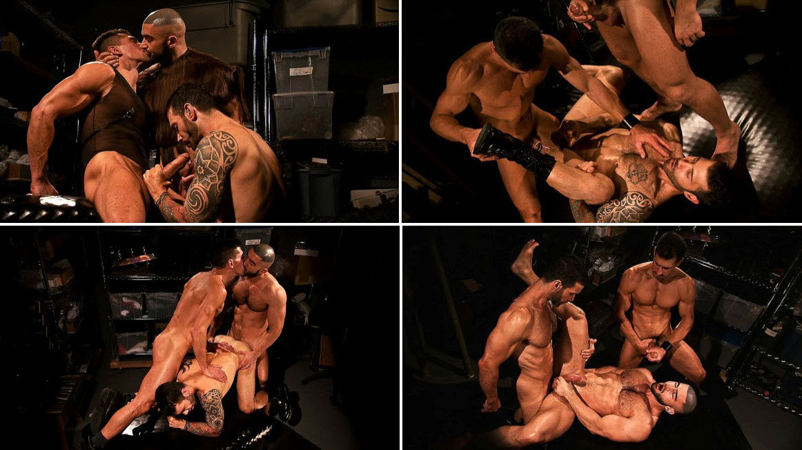 Vídeo Gay Online – Sexo Gay: Incubus 2 Francois Sagat, David Anthony & Junior Stellano