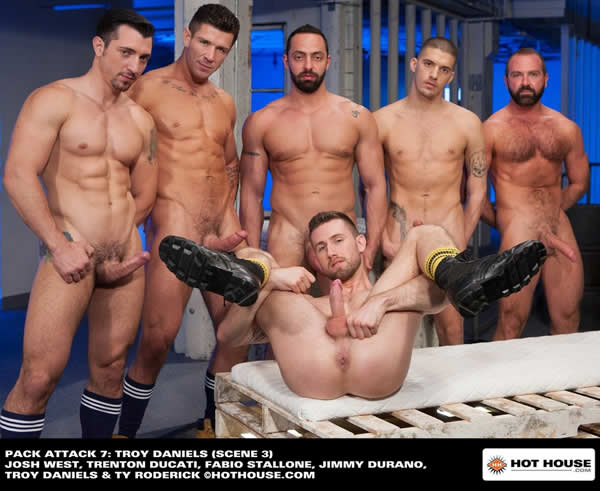 Hot House – Pack Attack 7: Troy Daniels, Scene #03