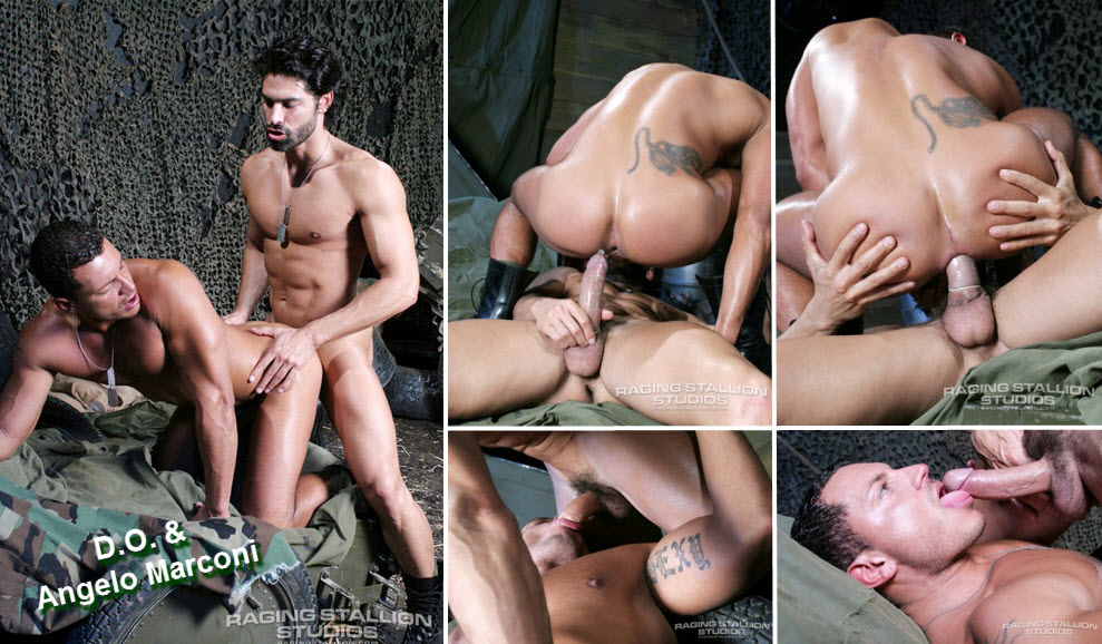 Vídeo Gay Online – Sexo Gay: D.O. & Angelo Marconi