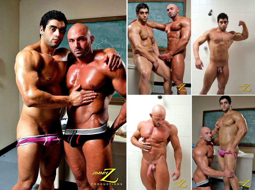 Vídeo Gay Online – Sexo Gay Musculosos: Max Chevalier & Angelo Antonio