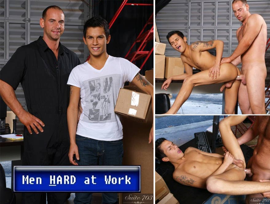 Vídeo Gay Online – Sexo Gay: Girth Brooks & Seth Knight