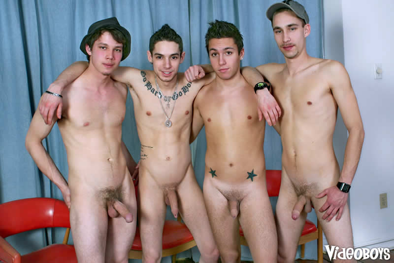 Videoboys – Suruba Gay: All-Stars Tag Team a Sex Slave