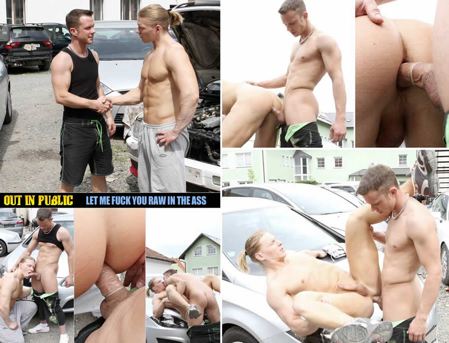 Vídeo Gay Online – Sexo na Oficina: Out In Public Let Me Fuck You Raw In Your Ass