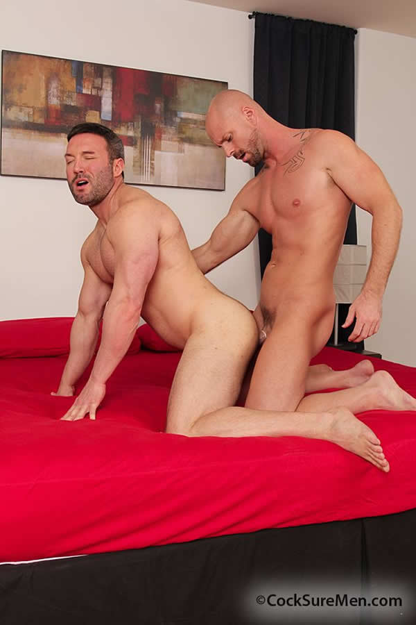 CockSureMen – Sexo Gay: Mitch Vaughn & Trevor Parks
