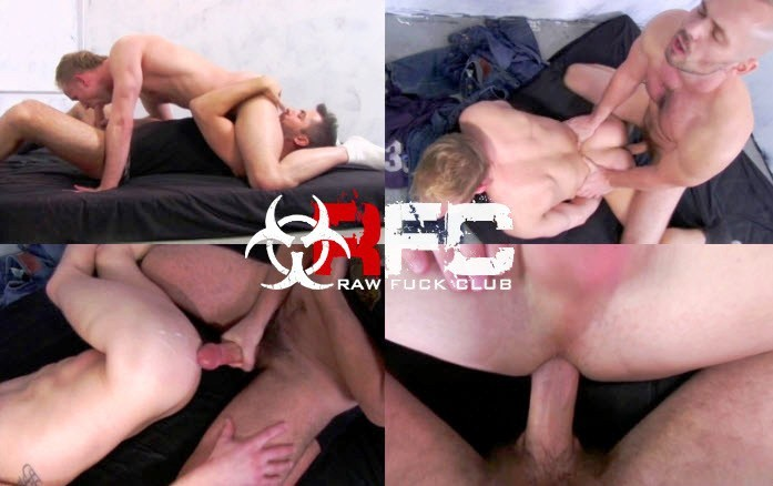 Vídeo Gay Online – Sexo Bareback: Owen Hawk, Brandon Hawk & William West