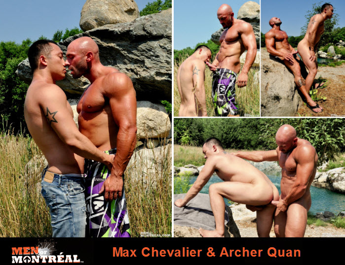 Vídeo Gay Online – Sexo Gay: Max Chevalier & Archer Quan