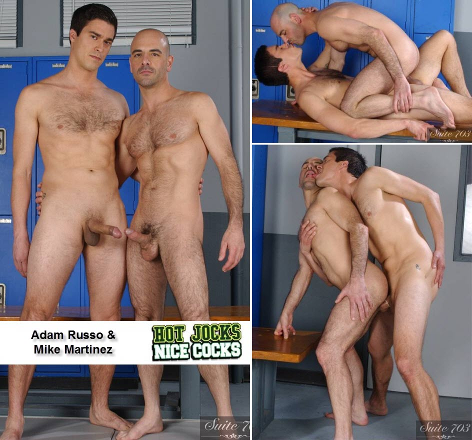Vídeo Gay Online – Sexo Gay: Adam Russo & Mike Martinez