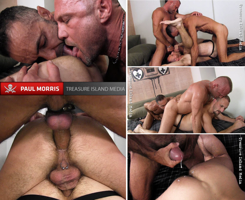 Vídeo Gay Online – Sexo Bareback: Ross Scott, Lito Cruz & Chad Brock