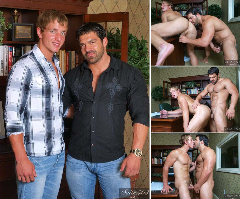 Vídeo Gay Online – Sexo Gay: Vince Ferelli & Landon Mycles