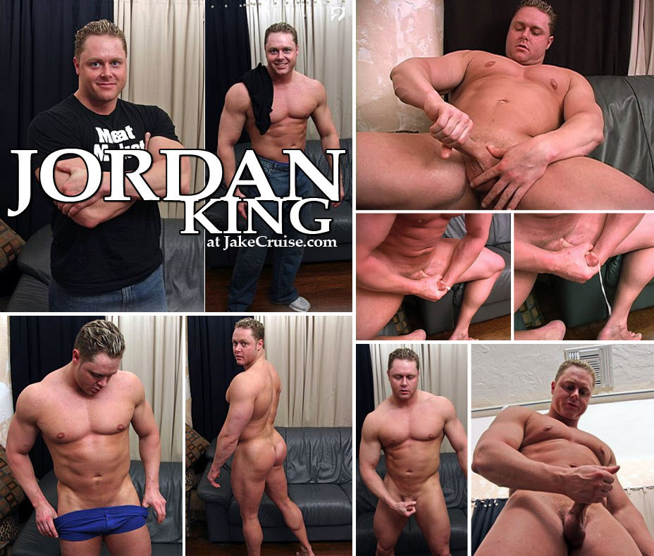 Vídeo Gay Online – Macho Grande: Punheta com Jordan King