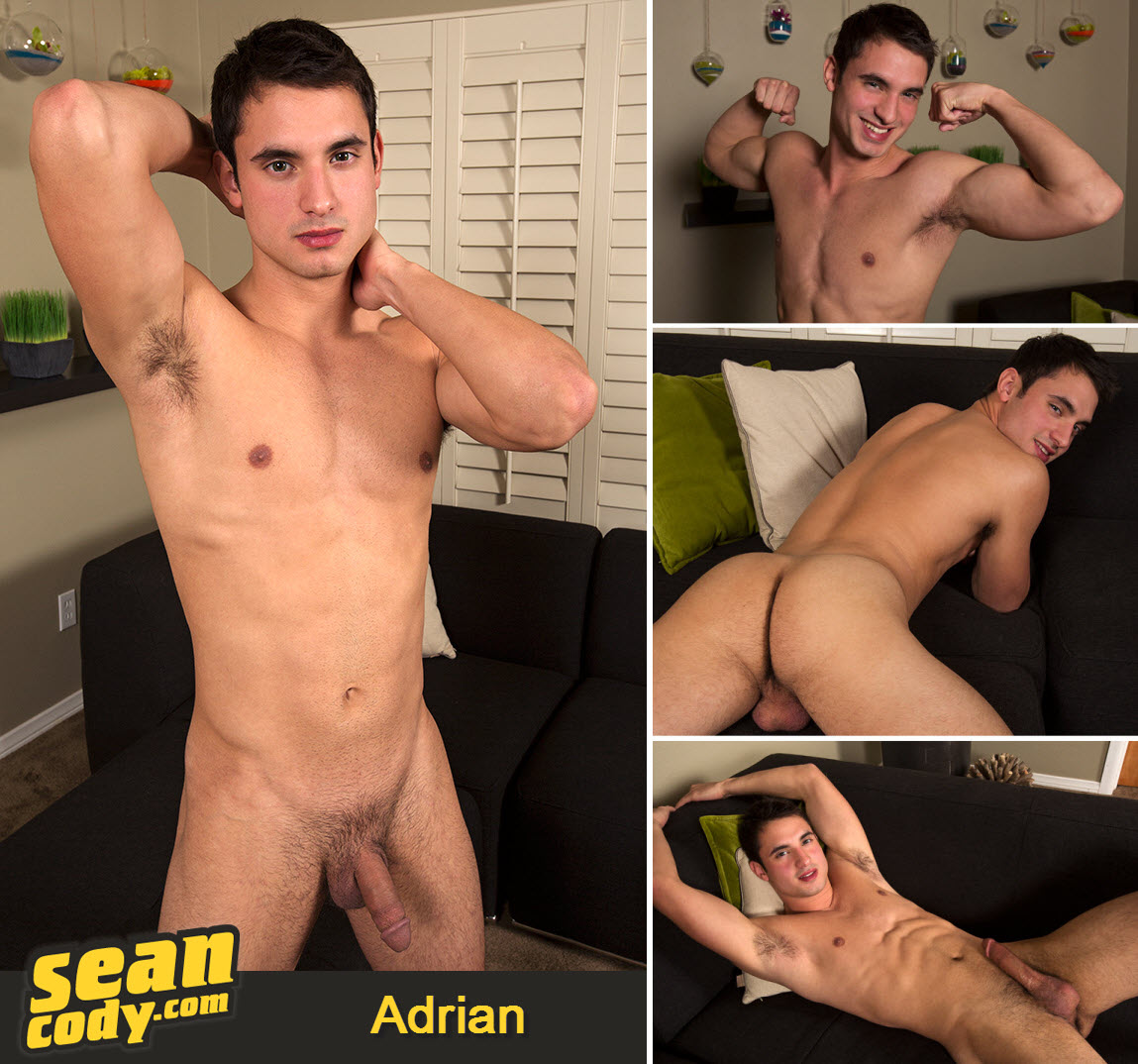 Vídeo Gay Download – Gato Gostoso: Punheta com Adrian