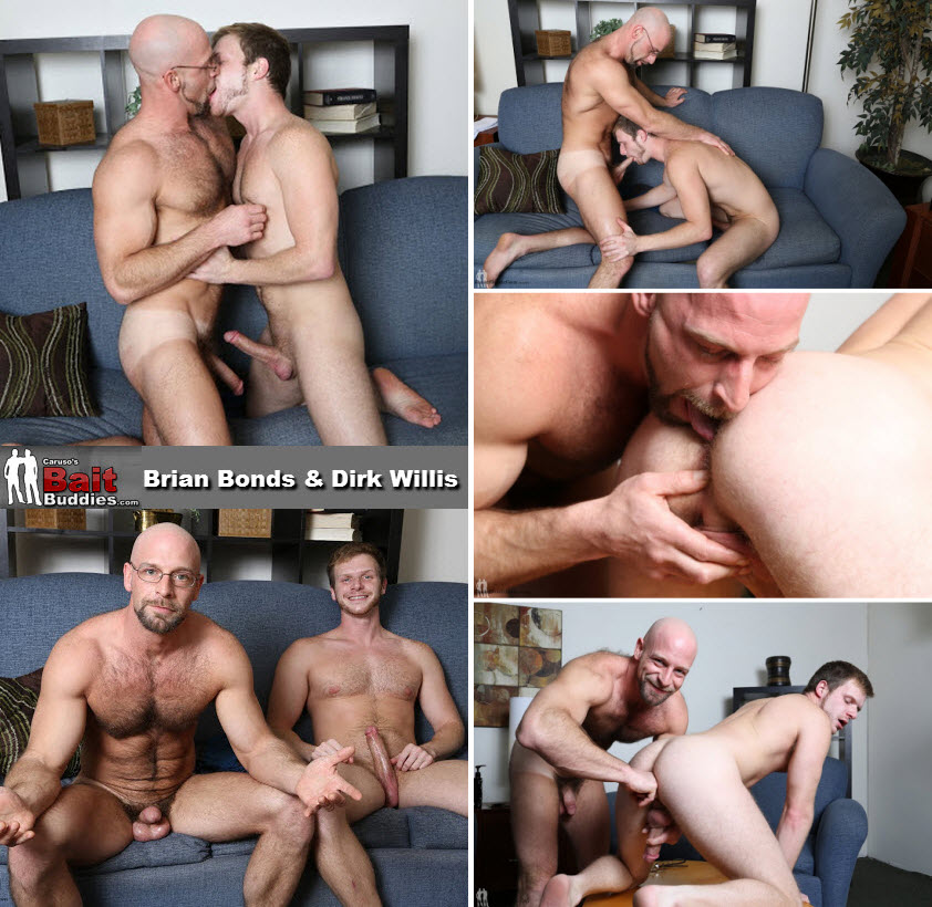 Vídeo Gay Online – Sexo Oral: Brian Bonds & Dirk Willis