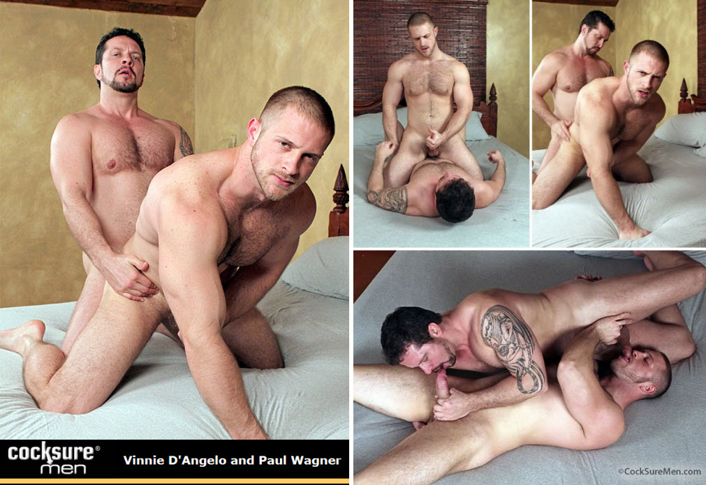 Vídeo Gay Online – Sexo Gay: Vinnie D'Angelo & Paul Wagner