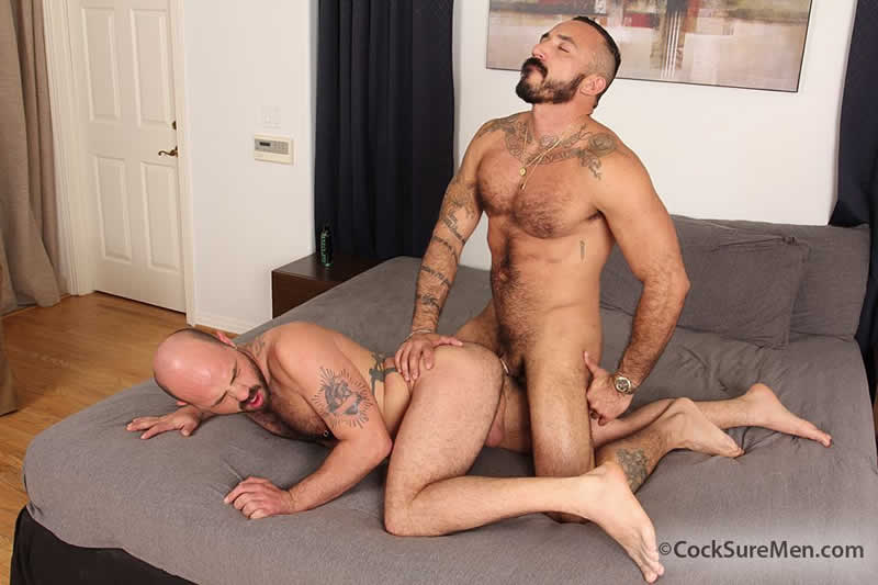 CockSureMen – Sexo Gay: Alessio Romero & Rogue Status