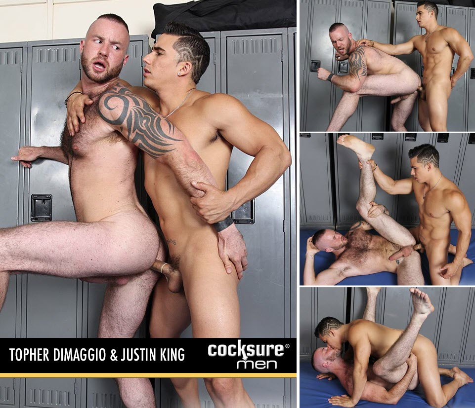 Vídeo Gay Online – Sexo Gay: Topher DiMaggio & Justin King