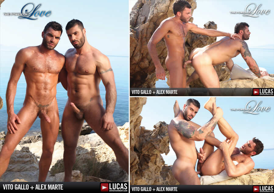 Vídeo Gay Online – Troca-Troca Gay:  Vito Gallo & Alex Marte