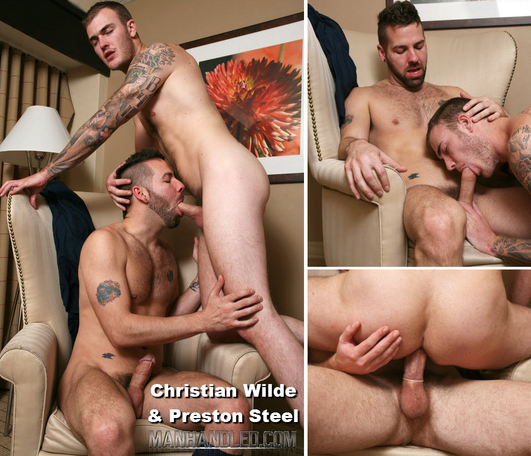 Vídeo Gay Online – Sexo Gay: Christian Wilde & Preston Steel