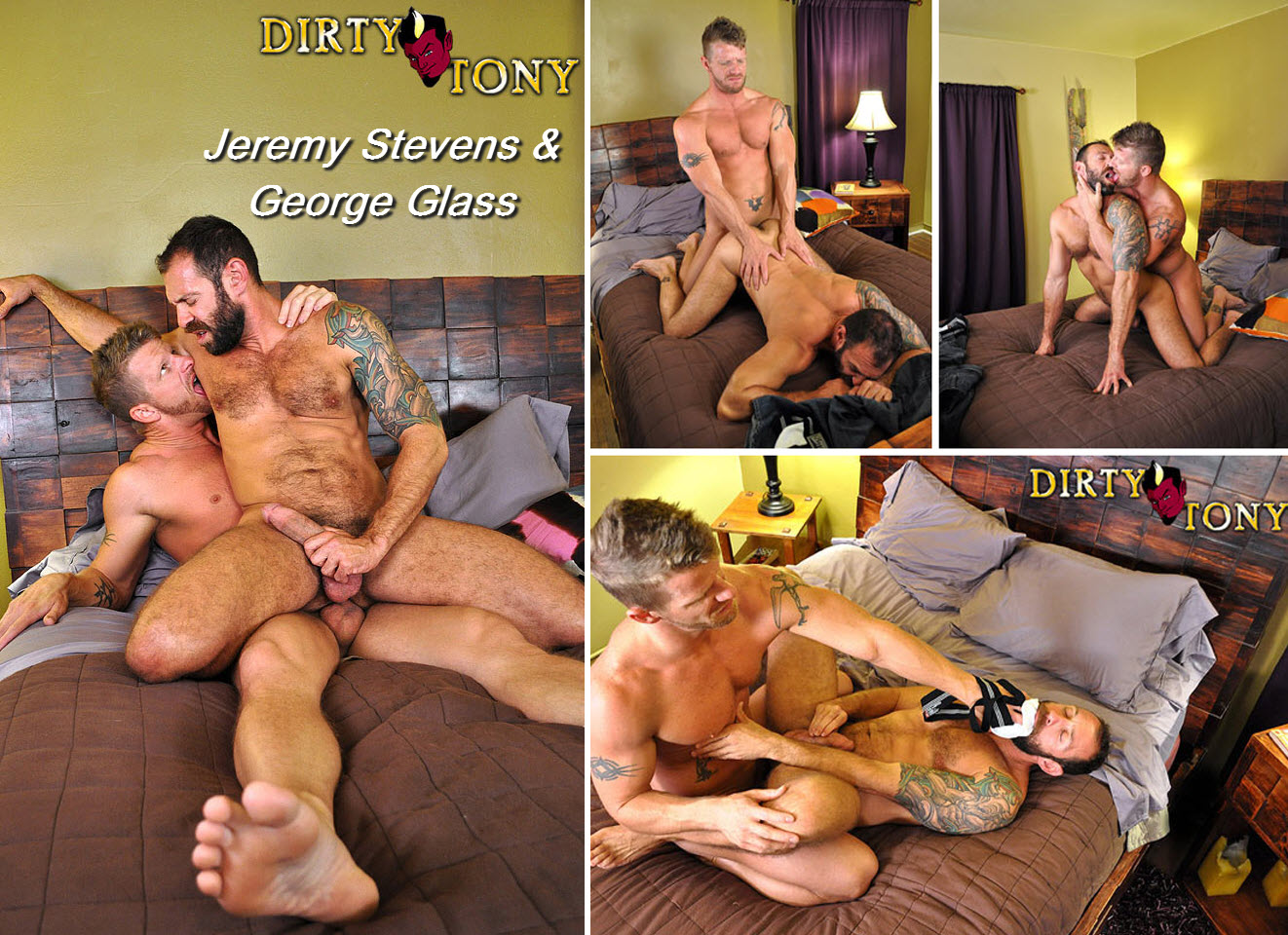 Vídeo Gay Online – Sexo Gay: Jeremy Stevens & George Glass
