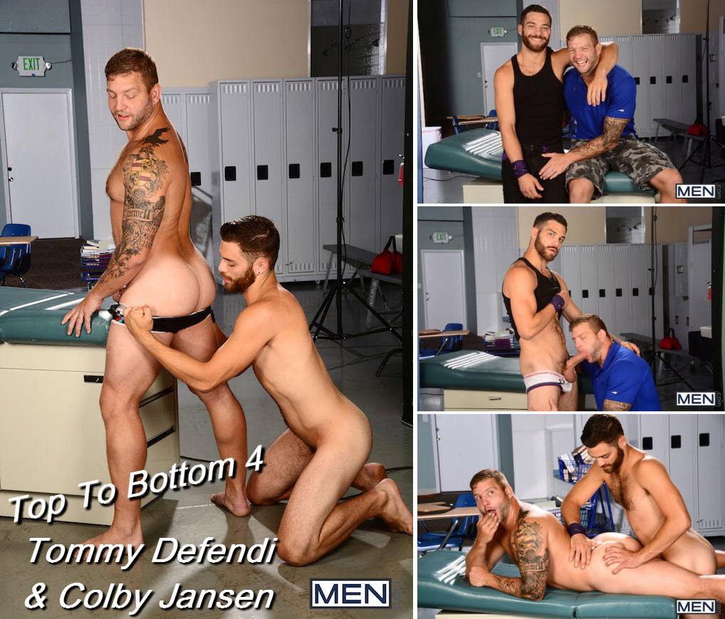 "Tommy Defendi fode Colby Jansen em ""Top To Bottom 4"""