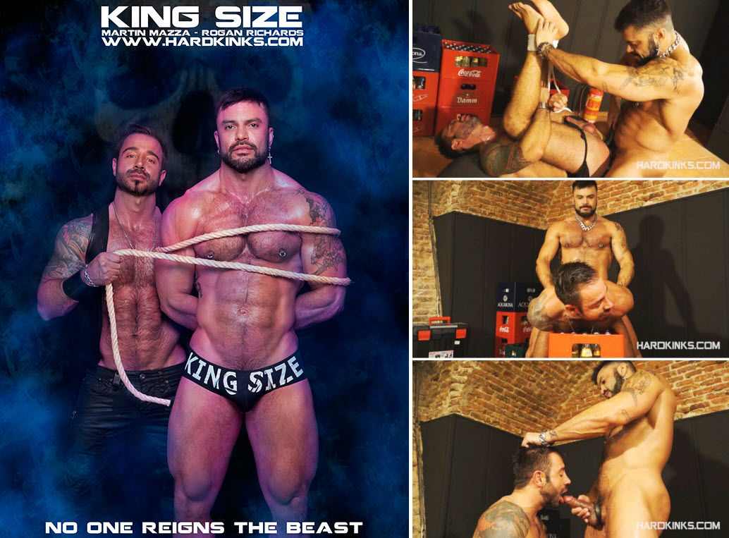 Vídeo Gay Online – Sexo Hardcore: Rogan Richards & Martin Mazza