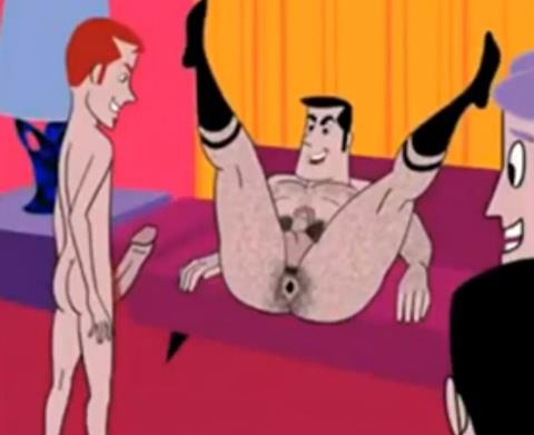 Vídeo Cartoon Gay – The Twist