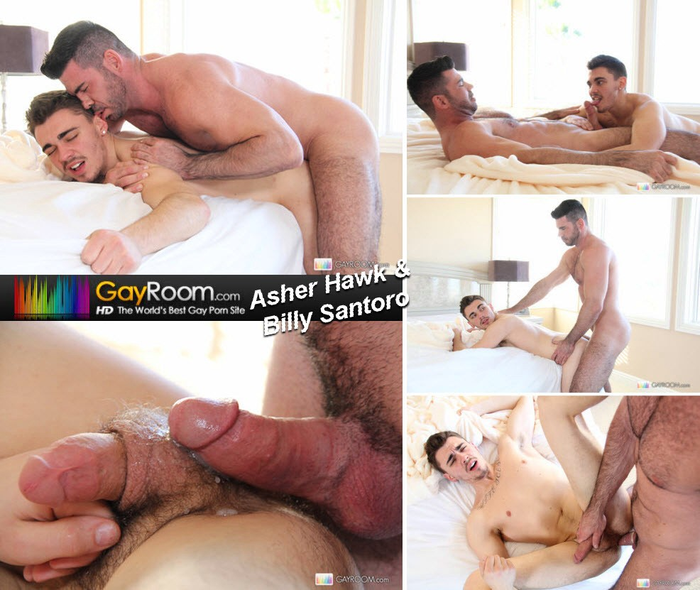 Vídeo Gay Online – Sexo Gay: Asher Hawk & Billy Santoro