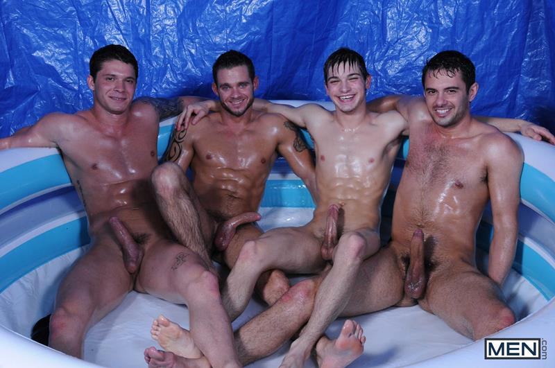 Men – Suruba Gay: Cooper Reed, Donny Wright, Haigen Sence, Johnny Rapid & Kip Johnson