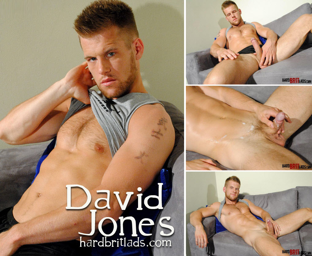 Vídeo Gay Online – Gato Gostoso: Punheta com David Jones