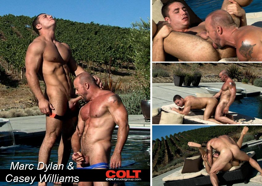 Vídeo Gay Online – Sexo Gay: Marc Dylan & Casey Williams