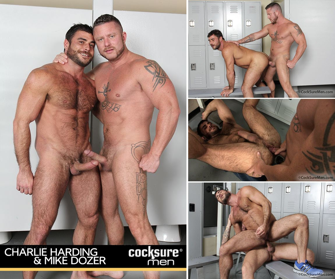 Vídeo Gay Online – Sexo Gay: Mike Dozer & Charlie Harding