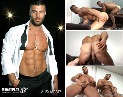 Vídeo Gay Online – Macho Gostoso: Punheta com Alex Marte