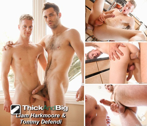 Vídeo Gay Online – Sexo Gay: Liam Harkmoore & Tommy Defendi