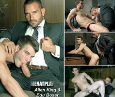 Vídeo Gay Online – Sexo Gay: Edu Boxer & Allen King