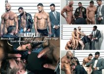 Vídeo Gay Online – Sexo Grupal Gay: Denis Vega, Dato Foland, Paco, Scott Hunter & Bruno Boni