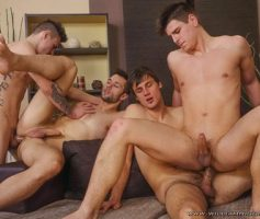 William Higgins – Suruba Gay: Wank Party 2014 #1