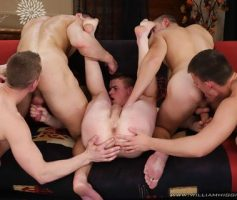 William Higgins – Suruba Gay: Wank Party 2014 #2, Part 1