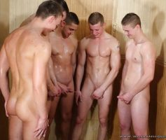 William Higgins – Suruba Gay: Wank Party 2014 #2, Part 2