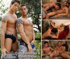 Vídeo Gay Online – Machos Gostosos: Oral e Punheta com Cody Cummings & Miguel Prange