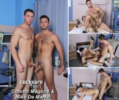 Vídeo Gay Online – Sexo Gay: Connor Maguire & Mike De Marko