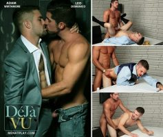 Vídeo Gay Online – Sexo Gay: Adam Wirthmore & Leo Domenico