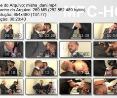 Vídeo Gay Download – Sexo Gay: Misha Dante & Dani Robles