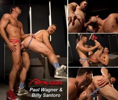 Vídeo Gay Online – Sexo Gay: Paul Wagner & Billy Santoro