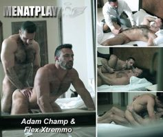 Vídeo Gay Online – Sexo Gay: Adam Champ & Flex Xtremmo