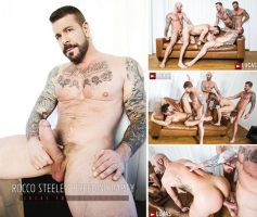 Vídeo Gay Online – Sexo Grupal Bareback: Jump Into Rocco Steele's Breeding Party
