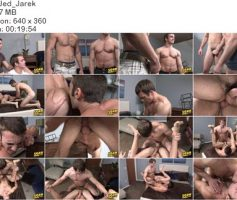 Vídeo Gay Download – Sexo Gay em Dose Dupla: Jed & Jarek – Aidan & Jarek