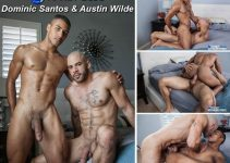 Vídeo Gay Online – Sexo Gay Bareback: Dominic Santos & Austin Wilde