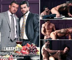 Vídeo Gay Online – Sexo Gay: Harry Louis & Marco Sessions