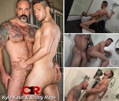 Vídeo Gay Download – Sexo Gay em Dose Dupla: Casey Everett & Rocco Steele – Kyle Kash & Scotty Rage