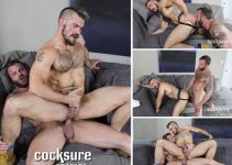 Vídeo Gay Online – CockSureMen: Derek Parker Barebacks Aarin Asker